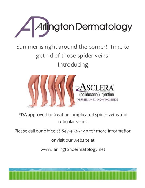 spider veins march special flyer