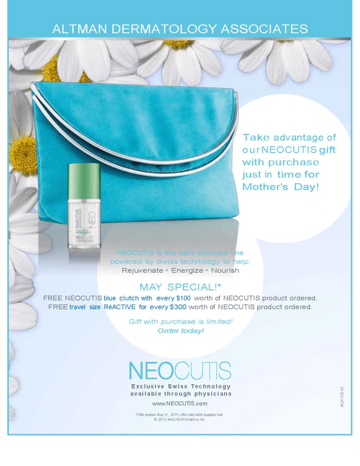 Mother's Day Flyer NEOCUTIS